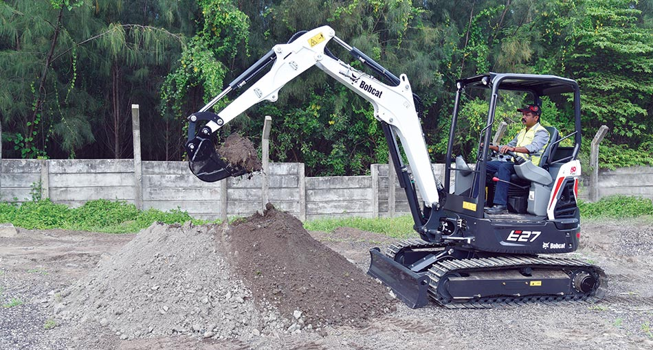 Bobcat launches its new E27 R Series Mini Excavator