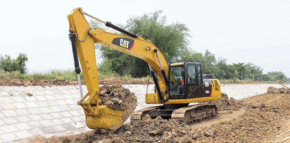 Caterpillar's next-gen 20-ton Cat® 323D3 and Cat 320D3
