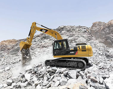 Caterpillar Introduces next-gen 20-ton Cat® 323D3 and Cat 320D3 excavators