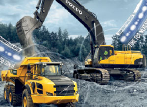 Volvo CE Telematic System