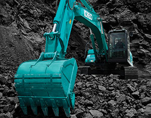 KOBELCO Launches 10th Generation  Excavator for Mining