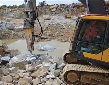 Volvo CE's hydraulic breaker range ideal for tough applications