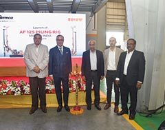 IMT S.p.A. unveils 'Made in India' AF 125 Piling Rig at partner GMMCO's facility
