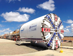 Robbins Tunnel Boring Machines
