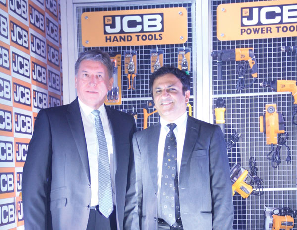 JCB Adds Hand & Power Tools to its Repertoire