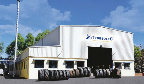 Tyresoles leader in tire retreading market in India with 60 years experience