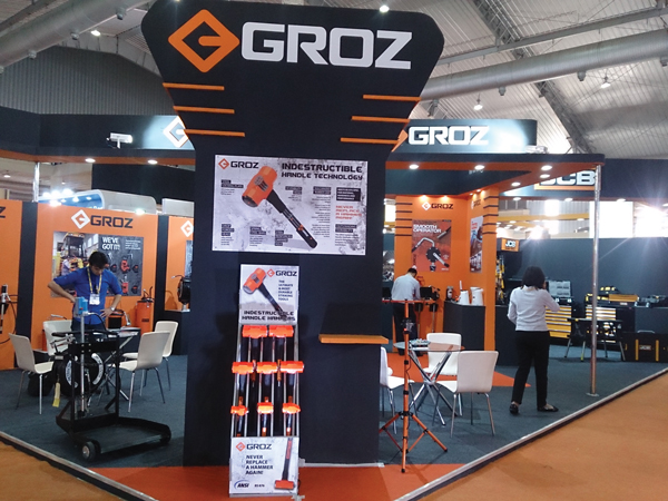 GROZ offers hammer, grease gun, fuel dispensing equipment, power tools