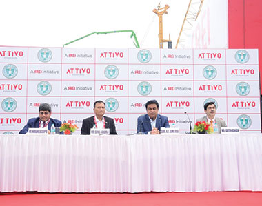 Attivo signs MoU with Telangana Govt to set up infrastructure equipment manufacturing park