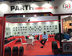 Parth Rubber Tech presents wide range of track pads