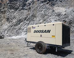 Doosan Portable Compressors and Light Towers