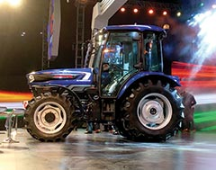 BKT AGRIMAX Tires Fitted onto Escorts' First Driverless Tractor