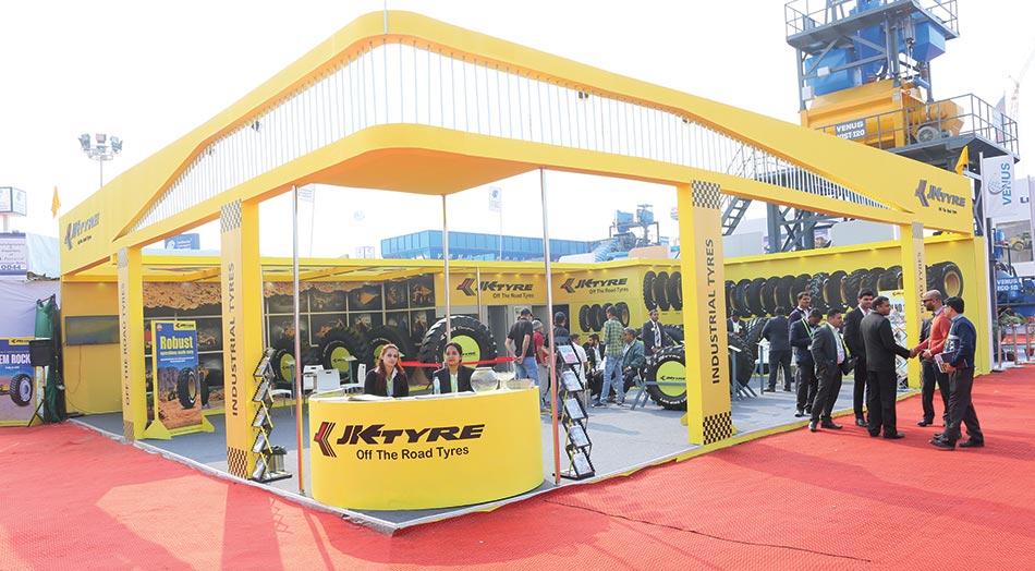 JK Tyre launches MINE Champion for the OTR segment