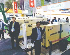Doosan Bobcat India sees a growing market for its light towers - and compressors