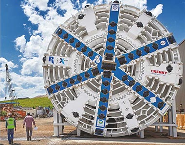 Robbins offers attractive options to contractors to make its - TBM cost-effective