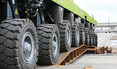 Self Propelled Modular Transporters