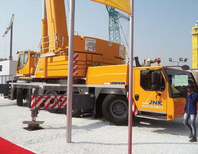 Liebherr Truck crane
