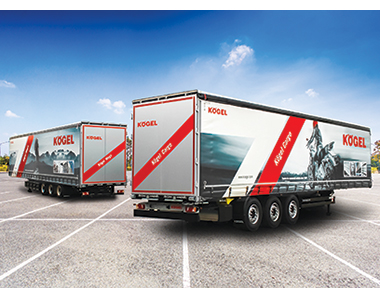 Hama Polska orders 1,100 Kögel semi-trailers