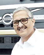 Dinakar B, Senior Vice President - Sales, Marketing and Aftermarket, Volvo Trucks India