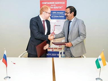 CONCOR signs MoU with JSC RZD Logistics (RZDL) of Russia