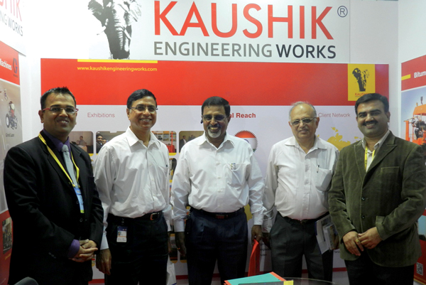 Kaushik Asphalt Drum Mix Plant