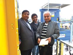 Marini Asphalt batch mix plant at Ringus road project in India