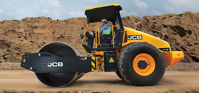 JCB India's Range of Compactors