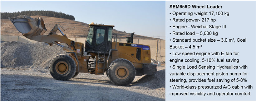 SEM 656D Wheel Loader