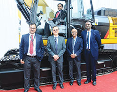 Caterpillar announces new products for the Indian market