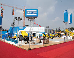 Atlas Copco widens offerings for road & infrastructure construction