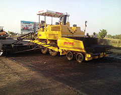 Unipave showcases Sensor Paver Finishers and upcoming Tractor Grader Attachment