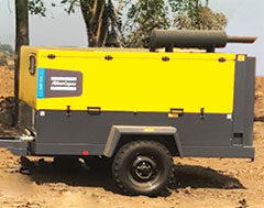 Atlas Copco's portable air compressor delivers assured performance at Navi Mumbai Intl' Airport
