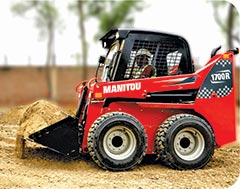 Manitou Equipment India Launches 1700R Skid Steer Loader