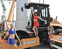 CASE India adds CASE 1110 EX to its existing fleet of Compactors