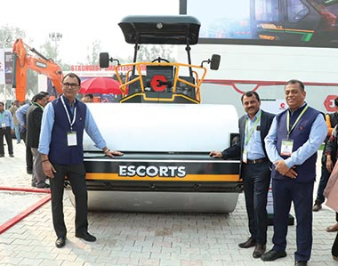 Escorts launches next-gen Hydra Pick-n-Carry Crane, new 11-ton compactor, and 3-ton mini compactor