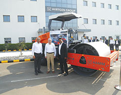 Wirtgen India Rolls Out 5000th HAMM Compactor