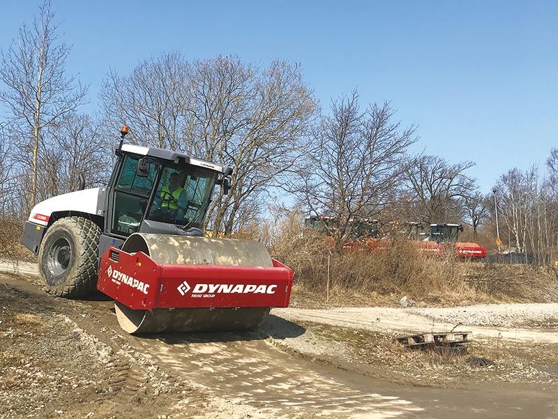 Dynapac Construction Equipment: Long lasting, user-friendly solutions