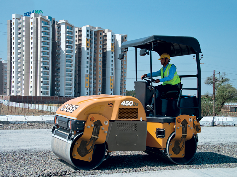 CASE India: Compactor is Best Bet for Road Construction