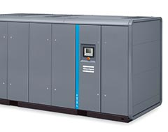 Atlas Copco's improved energy-efficient air compressor with better monitoring system