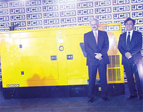 JCB Genset launch