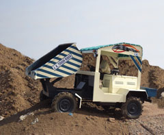 Tough Rider of 2 Ton Capacity working at a site in Dahej, Gujarat