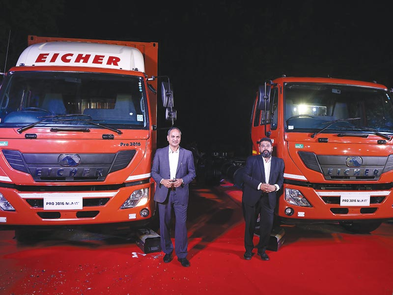 Eicher Trucks & Buses introduces industry first truck with AMT in 16t category