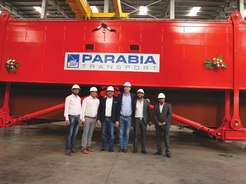 JH Parabia sources TII's made in India high-capacity Hydraulic Girder Bridge