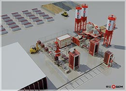 QGM Specializes in Designing and Manufacturing of Concrete Plants & Machinery