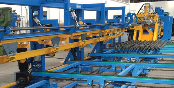 VGA 215 - Automatic Lattice Girder Welding Machine from progress