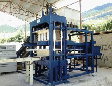 Reva Automatic Brick Block Making Plant