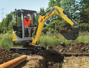 Wacker Neuson Mini Excavator ET16
