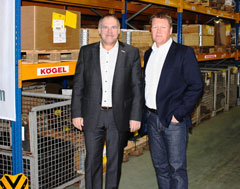 Kogel Spare Parts Warehouse