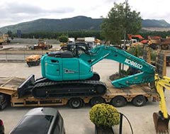 Kobelco Construction Machinery enters Spanish and Portuguese