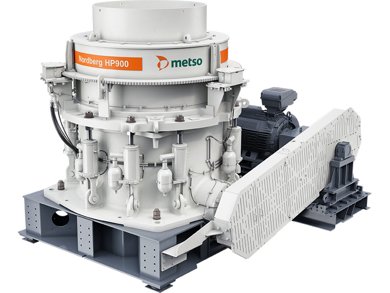 Metso introduces Nordberg HP900 cone crusher