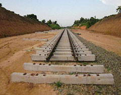 Railway fast tracks rail line in Bihar